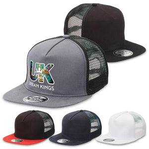 Legend Life Chino Flat Peak Trucker (4394)