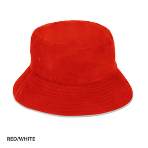 Grace Collection Bucket Hat Sandwich Design-(AH695/HE695)