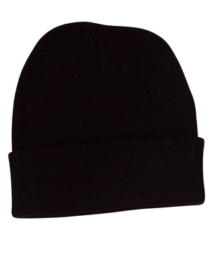Winning Spirit Roll Up Acrylic Beanie  (CH28)