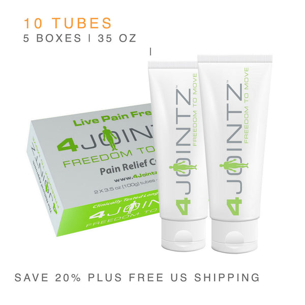 4J5 Five Twin-Packs | 4JOINTZ® Joint Pain Relief Cream