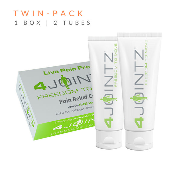4J2 Twin-Pack | 4JOINTZ® Joint Pain Relief Cream