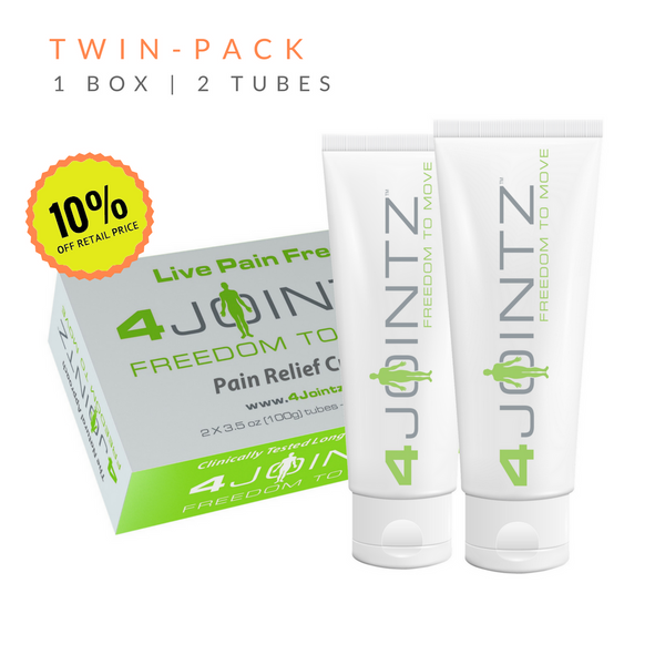 01 Twin-Pack | 4JOINTZ® Joint Pain Relief Cream