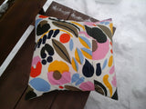 Envelope pillow cover from Marimekko fabric Hattarakukka