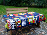 Scandinavian tablecloth from Marimekko fabric Toteemi