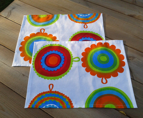 Cloth napkins from Marimekko linen Lappuliisa