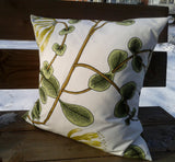 Throw pillow cover from Marimekko fabric Kuusama