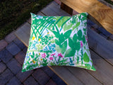 Throw pillow cover from Marimekko fabric Kesäntö