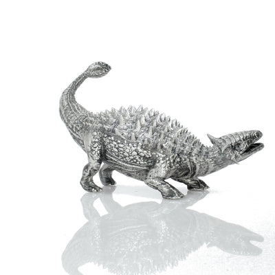 Ankylosaurus Silver Statue - Heads or Tales Coins & Collectibles