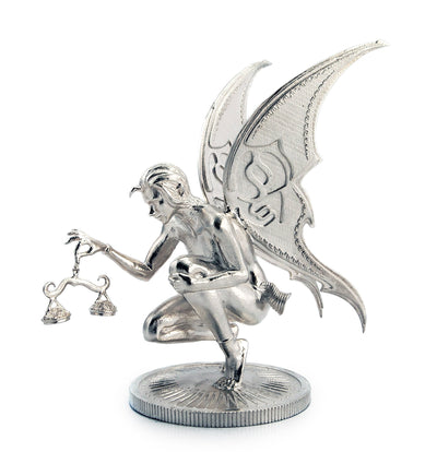 Ariana The Fairy Silver Statue - Heads or Tales Coins & Collectibles