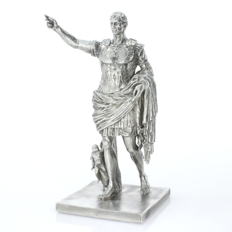 Augustus de Prima Porta Silver Statue - Heads or Tales Coins & Collectibles