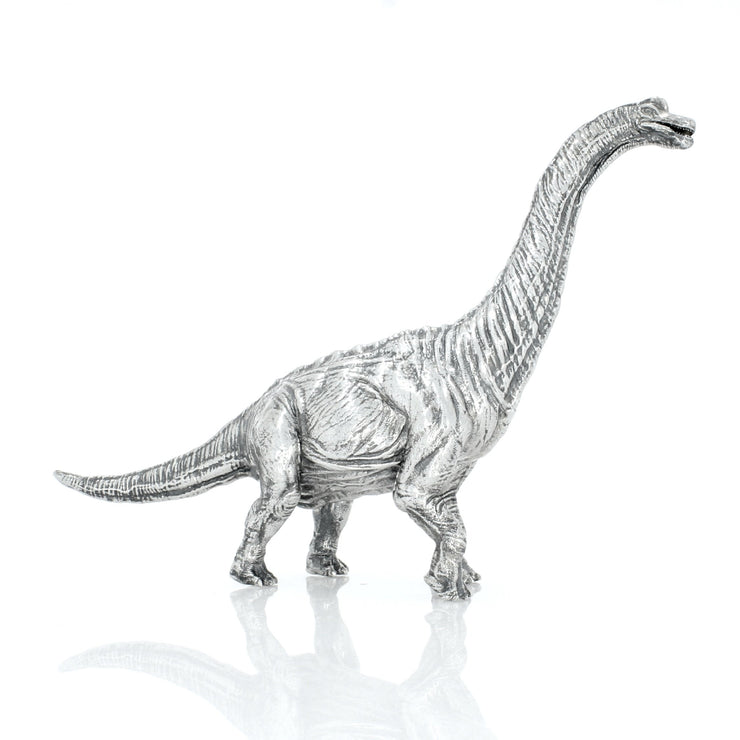Brachiosaurus Silver Statue - Heads or Tales Coins & Collectibles