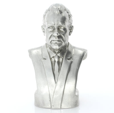 Presidential Bust #37 Richard Nixon Silver Statue - Heads or Tales Coins & Collectibles
