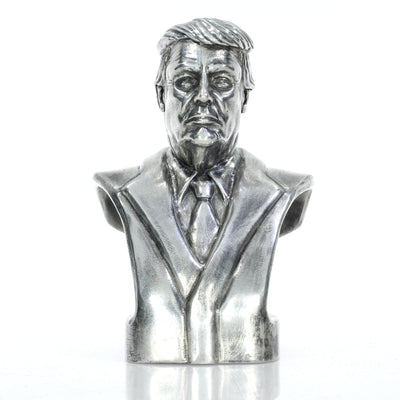 Presidential Bust #45 Donald Trump Silver Statue - Heads or Tales Coins & Collectibles