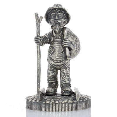 The Walking Hobo Silver Statue - Heads or Tales Coins & Collectibles
