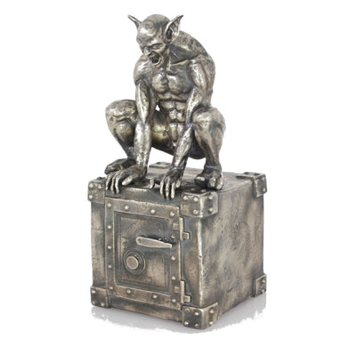 Godric The Gargoyle Silver Statue - Heads or Tales Coins & Collectibles