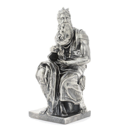 Michelangelo's Moses - Silver Statues