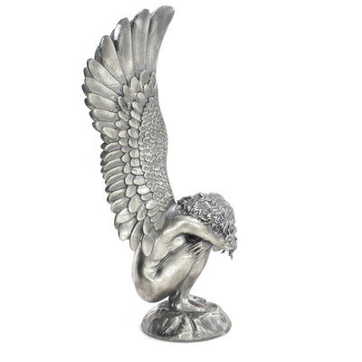 The Fallen Angels: Artifice Silver Statue - Heads or Tales Coins & Collectibles