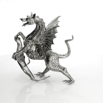 Griffin at Temple Bar Silver Statue - Heads or Tales Coins & Collectibles