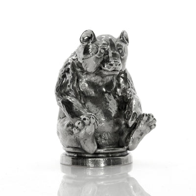 The Silver Panda Silver Statue - Heads or Tales Coins & Collectibles