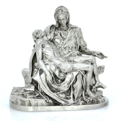 Michelangelo's Pieta Silver Statue - Heads or Tales Coins & Collectibles