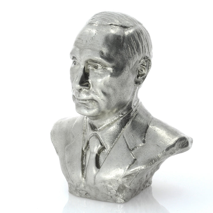 Vladimir Putin Silver Statue - Heads or Tales Coins & Collectibles