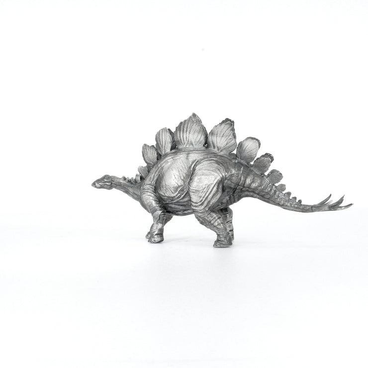 Stegosaurus Silver Statue - Heads or Tales Coins & Collectibles