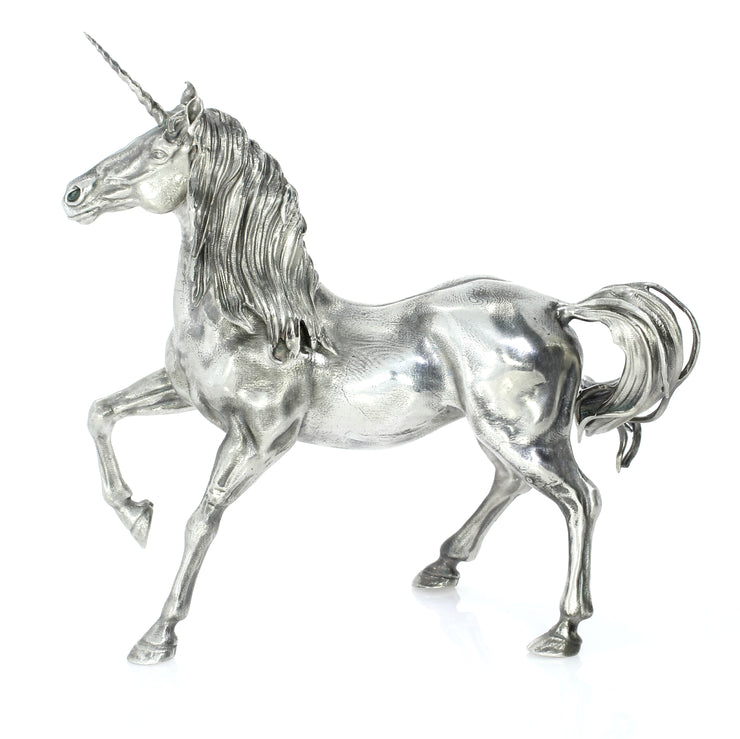The Silver Unicorn Silver Statue - Heads or Tales Coins & Collectibles