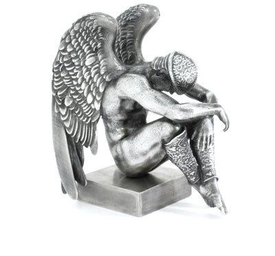 The Fallen Angels: Volnus Silver Statue - Heads or Tales Coins & Collectibles