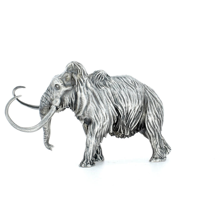 Woolly Mammoth Silver Statue - Heads or Tales Coins & Collectibles