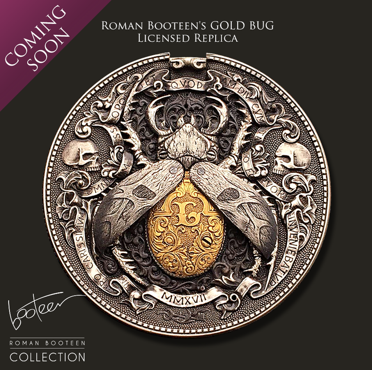 Roman Booteen's Gold Bug Authorized Replica