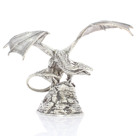 Coco the Dragon - Silver Statues