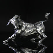Troy the Silver Bull - Silver Statues