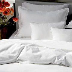 Pique Pure White Bedding - Rothman & Co.