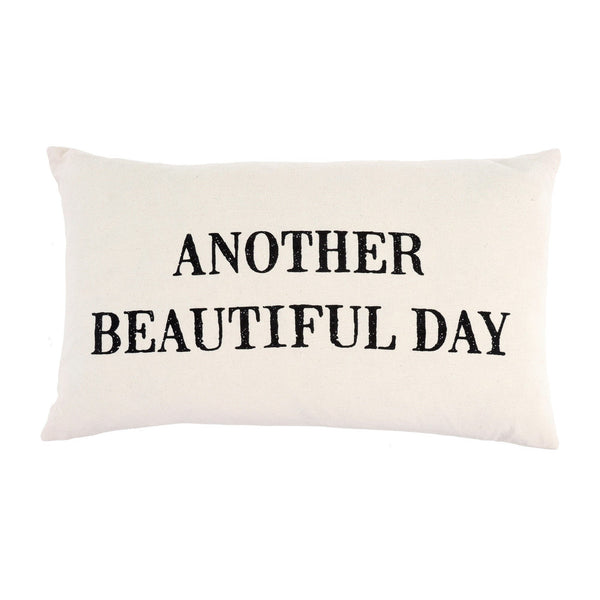 Beautiful Day Cushion 21x12