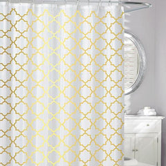 Windsor Peva Shower Curtain Gold - Rothman & Co.