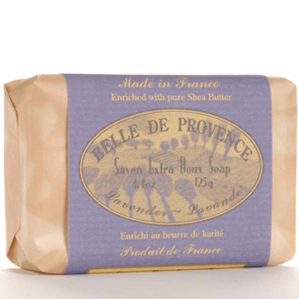 Belle de Provence Lavender Pure Vegetable Based Bar Soap