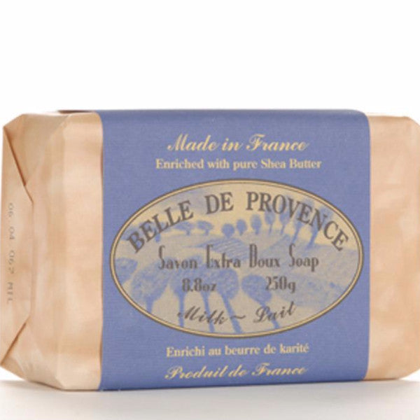 Belle de Provence Milk Pure Vegetable Based Bar Soap