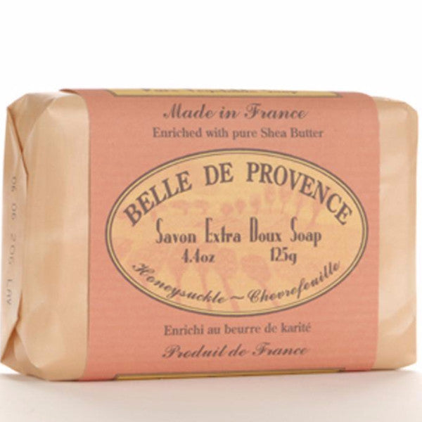 Belle de Provence Honey Suckle Pure Vegetable Based Bar Soap