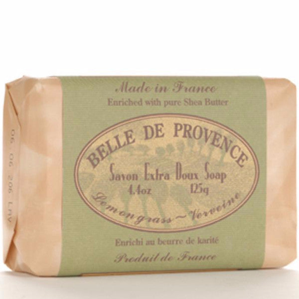 Belle de Provence Lemongrass Pure Vegetable Based Bar Soap