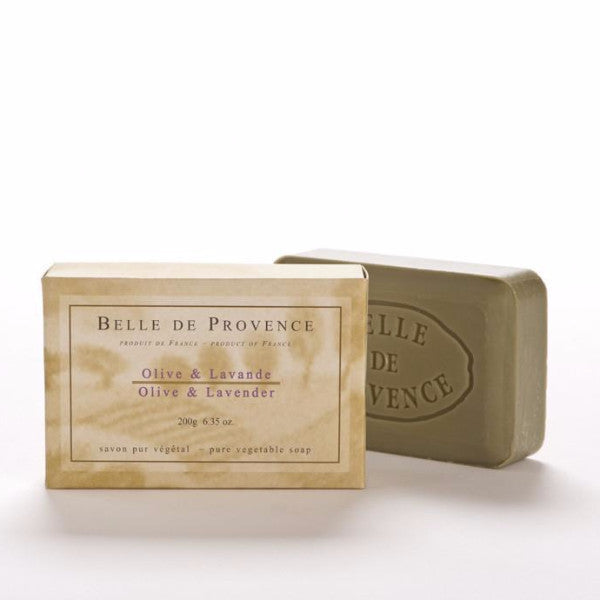 Belle de Provence - Olive & Lavender Oil 200g Bar Soap