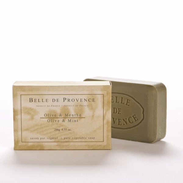 Belle de Provence - Olive & Mint Oil 200g Bar Soap