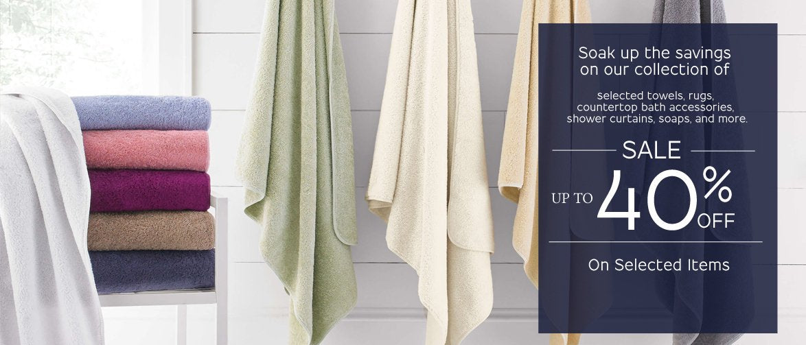 100% COTTON TOWELS - MADE IN TURKEY AND PORTUGAL. GREAT SELECTION OF HAND TOWELS, BATH TOWELS, WASHCLOTHS, BATH SHEETS, AND TUB MATS.