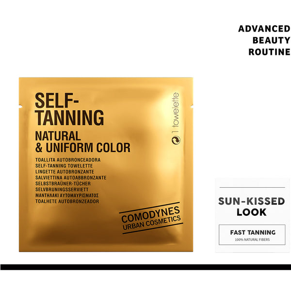 Face Natural Tanning Wipes  | 8 Pack - ComodynesSkincare