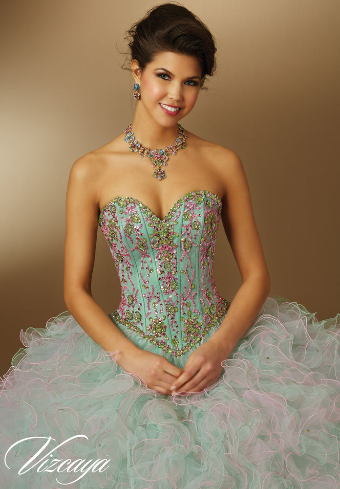 Quinceañera Dress by Morilee Vizcaya 89045