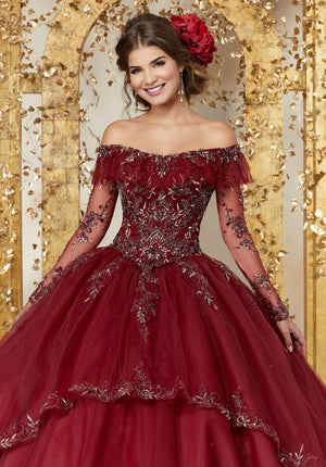 Quinceanera Dress by Morilee Vizcaya 89235