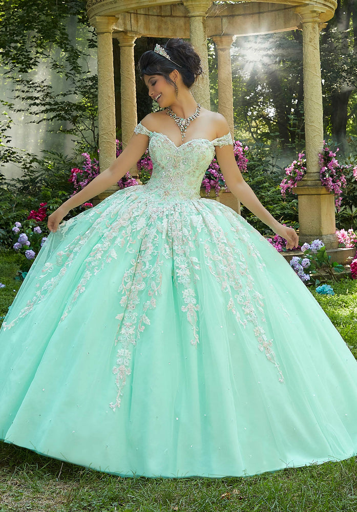 Quinceanera Dress by Morilee Vizcaya 89264