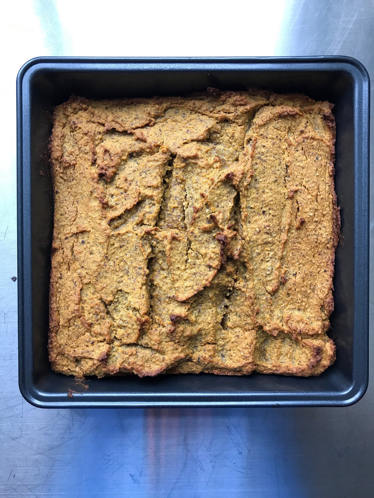 Paleo Sweet Potato Hazelnut Bread (gluten/dairy free)