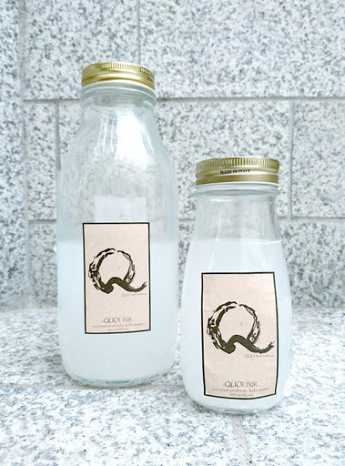 QUOhk Coconut Water kefir QUOlixir recycle glass bottles