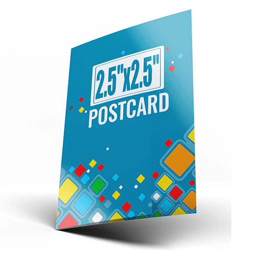 "2.5""x2.5"" Postcards (Chicago/Atlanta Local Pickup)"