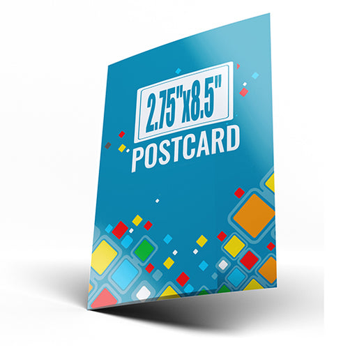 "2.75""x8.5"" Postcards (Chicago Local Pickup Available)"